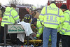 3 CAR CRASH - ROLL OVER - ON ROUTE 58 :
