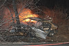 BMW SMASHES INTO TREE & CATCHES FIRE :