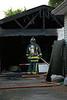 ELYRIA GARAGE FIRE ON STANFORD - Photos: BRIAN WOODS :
