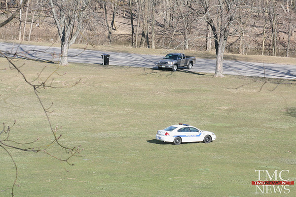 ELYRIA STAND OFF IN CASCADE PARK