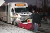 LCT BUS CRASH ON BROADWAY :
