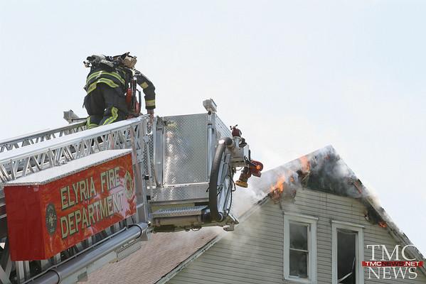 LORAIN DUPLEX FIRE CAUSES $40K IN DAMAGES