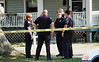 MAN SHOT IN LEG ON 13th ST IN ELYRIA - Photos by: BRIAN WOODS :