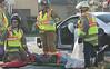 NINE INJURED IN ROUTE 303 CRASH :