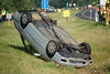 ROLL OVER ON I-90 VERMILION - Photos by: BRIAN WOODS :