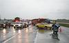 ROUTE 20 CRASH - CAR v MOTORCYCLE :