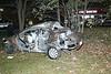 SINGLE CAR CRASH IN AMHERST :