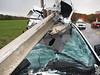 TEENS CRASH INTO GUARD RAIL :
